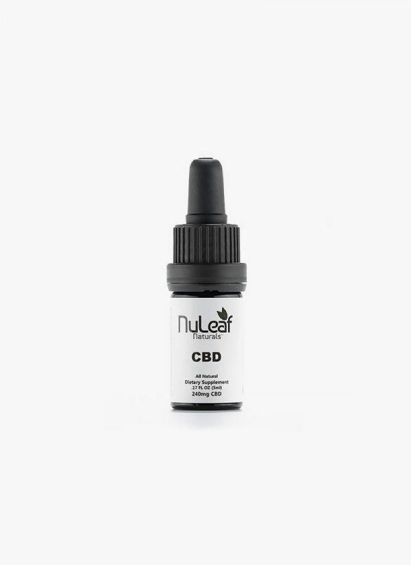 Nuleaf Naturals 240mg Full Spectrum CBD Oil
