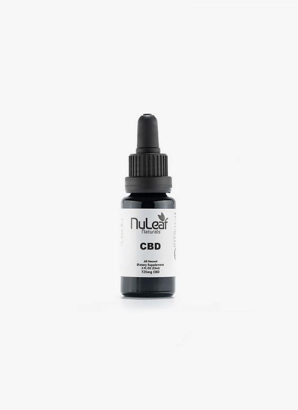 Nuleaf Naturals 725mg Full Spectrum CBD Oil