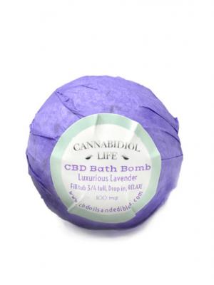 Cannabidiol Life CBD Bath Bomb